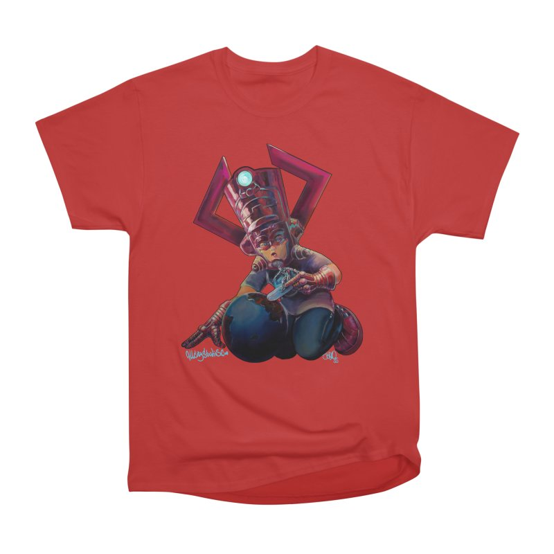 Playing with my food Women's Heavyweight Unisex T-Shirt by All City Emporium's Artist Shop