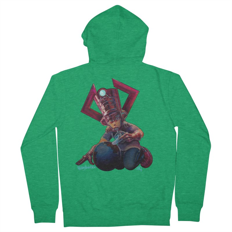 Playing with my food Women's Zip-Up Hoody by All City Emporium's Artist Shop