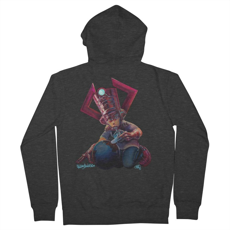 Playing with my food Men's French Terry Zip-Up Hoody by allcityemporium's Artist Shop