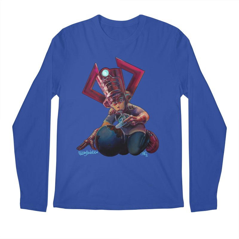 Playing with my food Men's Regular Longsleeve T-Shirt by All City Emporium's Artist Shop