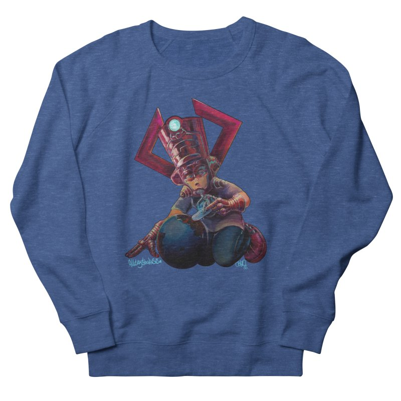 Playing with my food Men's French Terry Sweatshirt by All City Emporium's Artist Shop