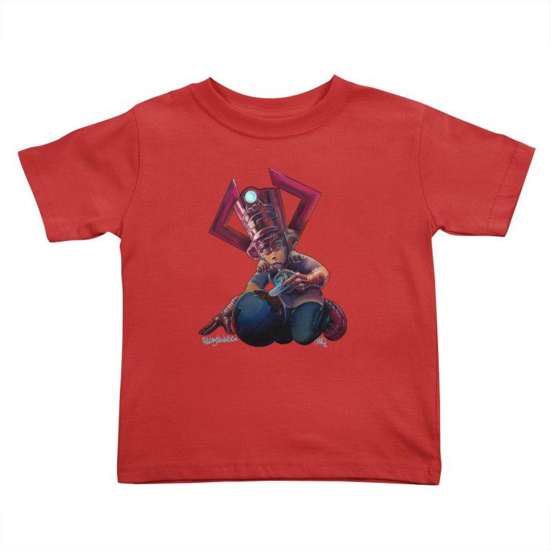 Playing with my food Kids Toddler T-Shirt by allcityemporium's Artist Shop