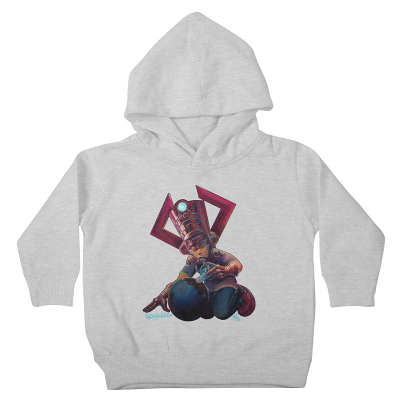 Playing with my food Kids Toddler Pullover Hoody by allcityemporium's Artist Shop
