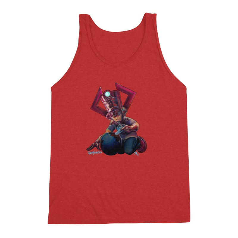 Playing with my food Men's Triblend Tank by All City Emporium's Artist Shop