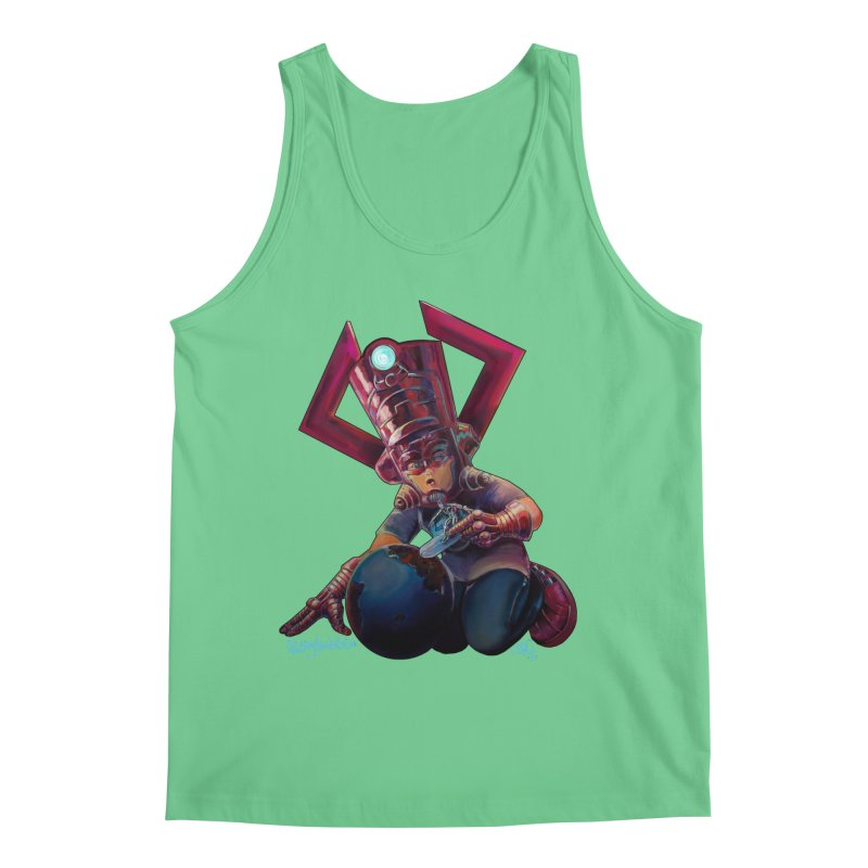 Playing with my food Men's Regular Tank by All City Emporium's Artist Shop