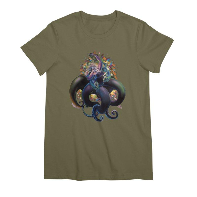 Sea witch Women's Premium T-Shirt by allcityemporium's Artist Shop