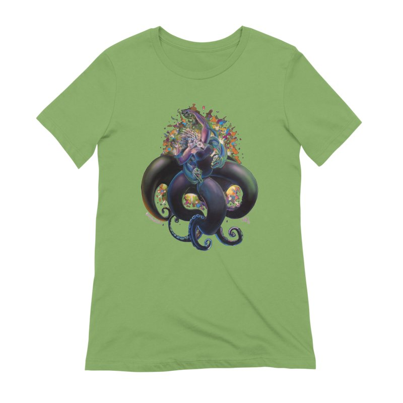 Sea witch Women's Extra Soft T-Shirt by All City Emporium's Artist Shop