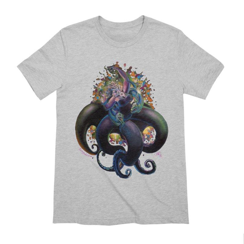 Sea witch Men's Extra Soft T-Shirt by allcityemporium's Artist Shop