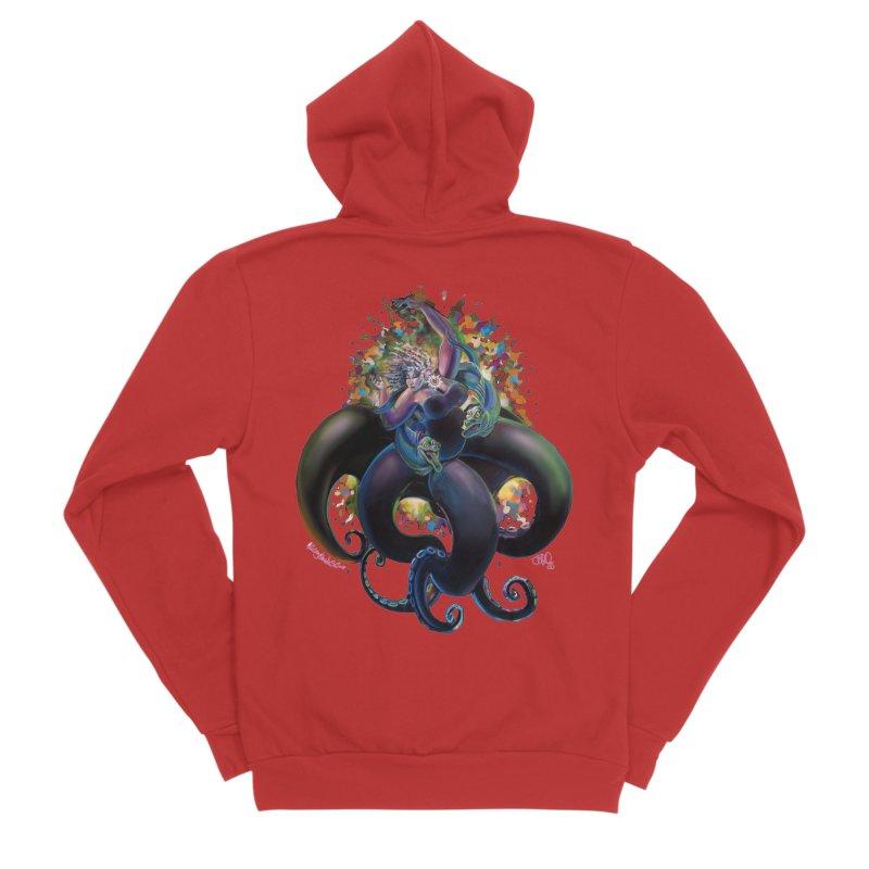 Sea witch Men's Zip-Up Hoody by All City Emporium's Artist Shop