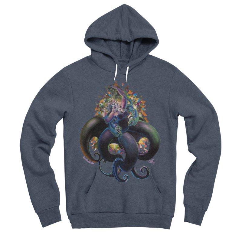 Sea witch Men's Sponge Fleece Pullover Hoody by All City Emporium's Artist Shop