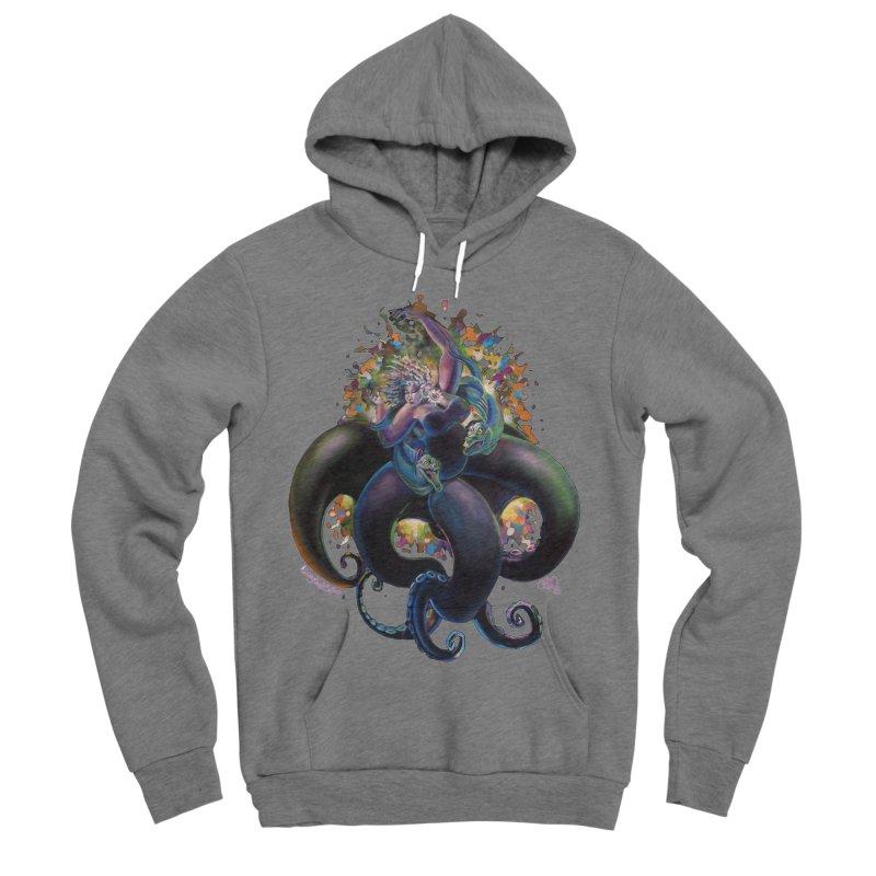 Sea witch Women's Sponge Fleece Pullover Hoody by All City Emporium's Artist Shop