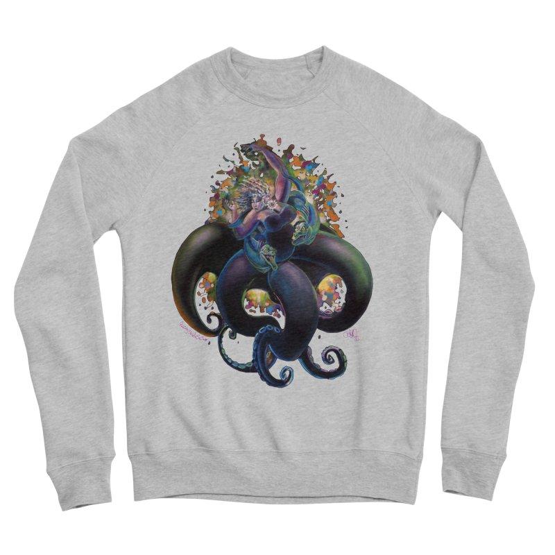 Sea witch Women's Sponge Fleece Sweatshirt by All City Emporium's Artist Shop