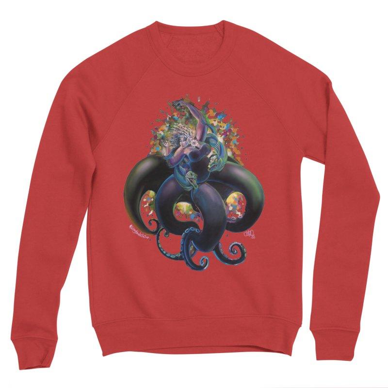 Sea witch Men's Sponge Fleece Sweatshirt by All City Emporium's Artist Shop