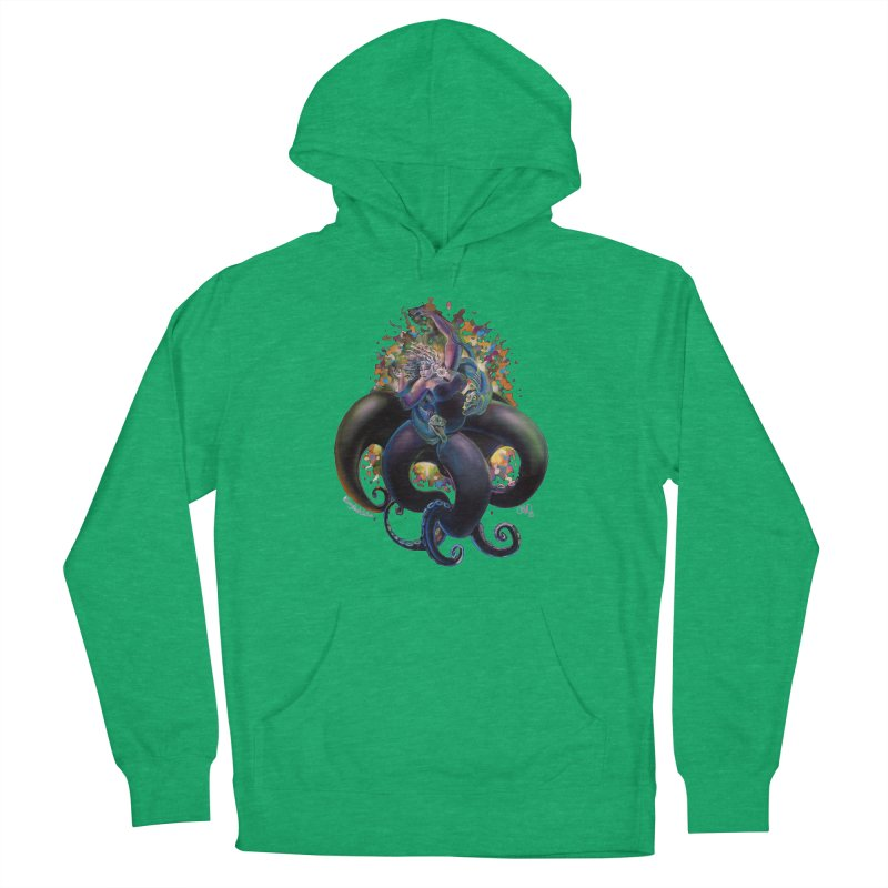 Sea witch Women's French Terry Pullover Hoody by All City Emporium's Artist Shop