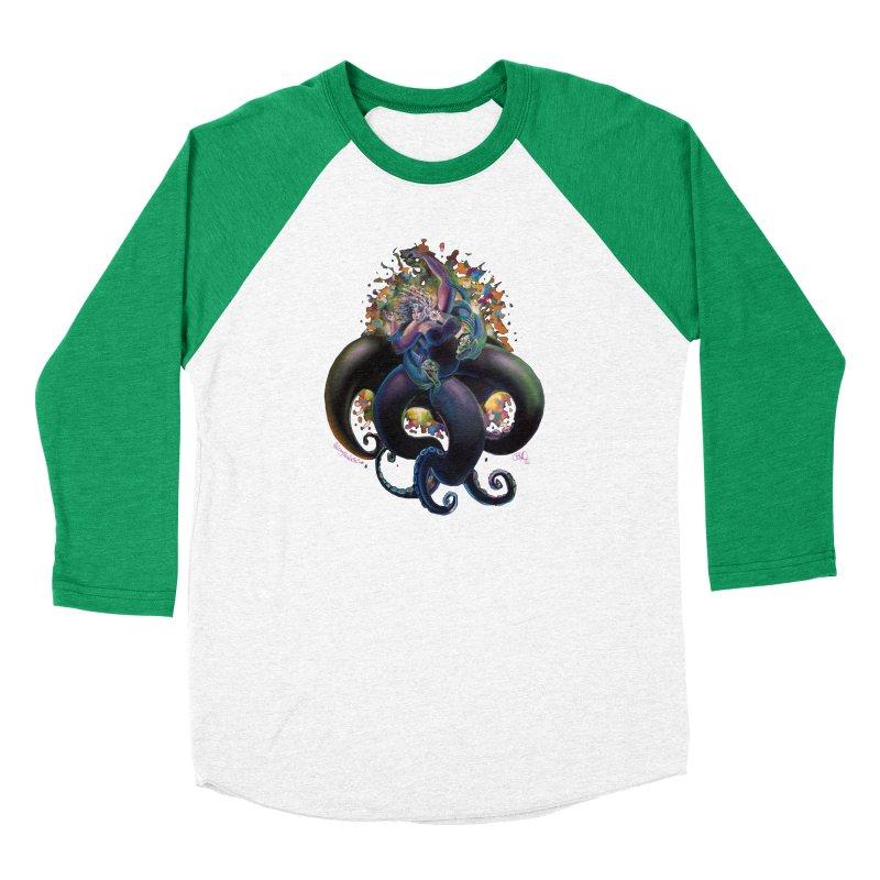 Sea witch Men's Baseball Triblend Longsleeve T-Shirt by All City Emporium's Artist Shop