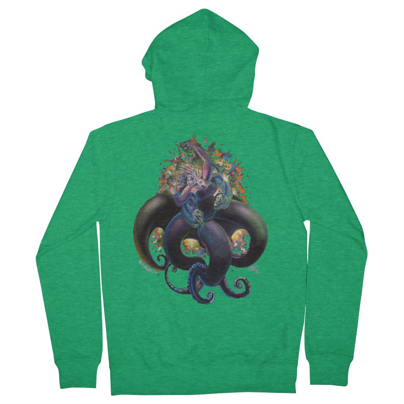 Sea witch Women's Zip-Up Hoody by All City Emporium's Artist Shop