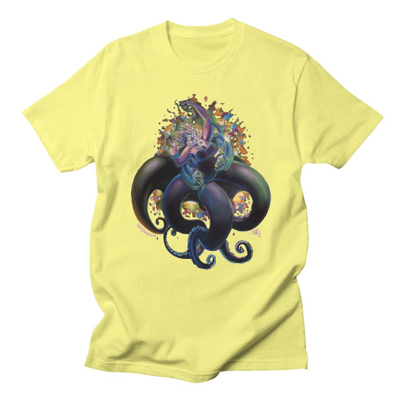 Sea witch Men's Regular T-Shirt by All City Emporium's Artist Shop