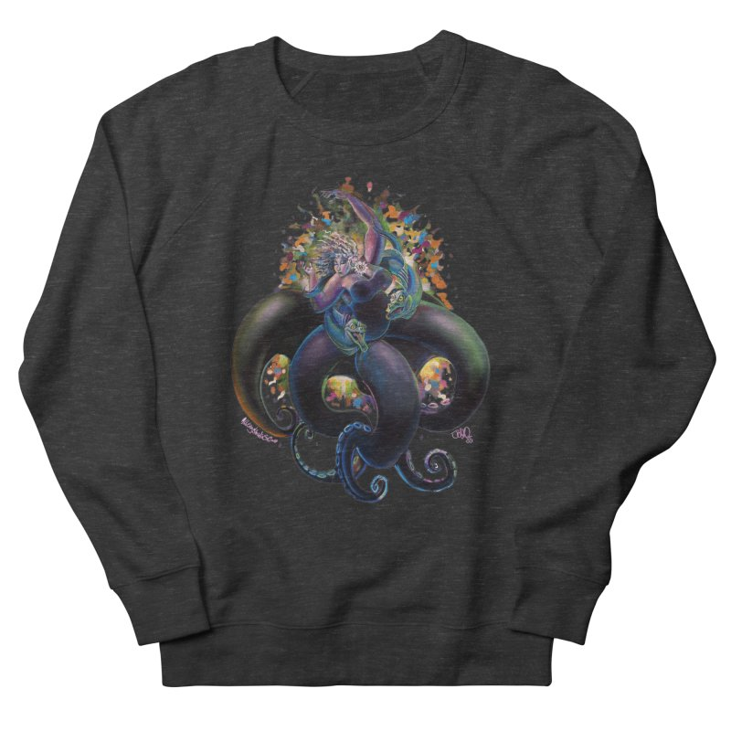 Sea witch Women's French Terry Sweatshirt by allcityemporium's Artist Shop
