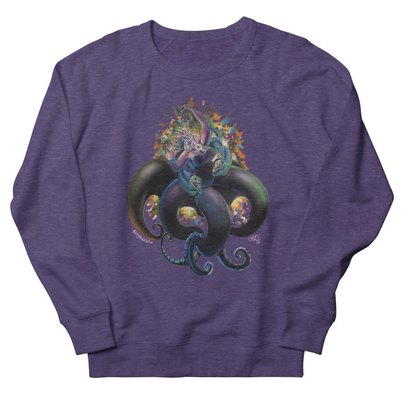 Sea witch Women's French Terry Sweatshirt by All City Emporium's Artist Shop