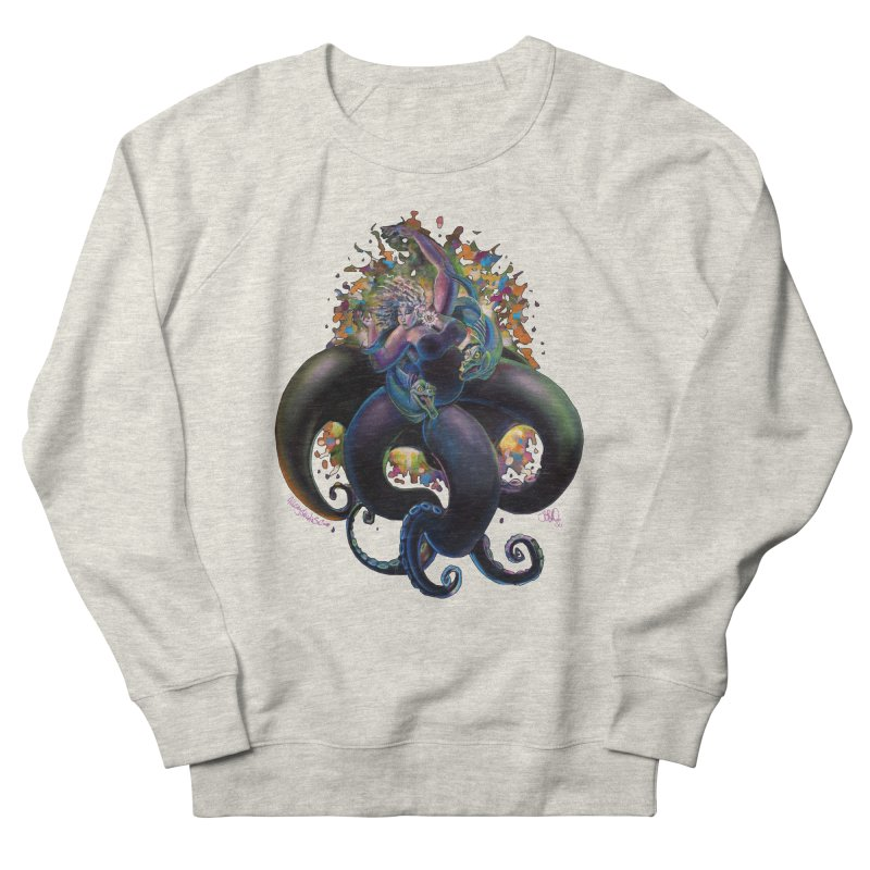 Sea witch Men's French Terry Sweatshirt by All City Emporium's Artist Shop
