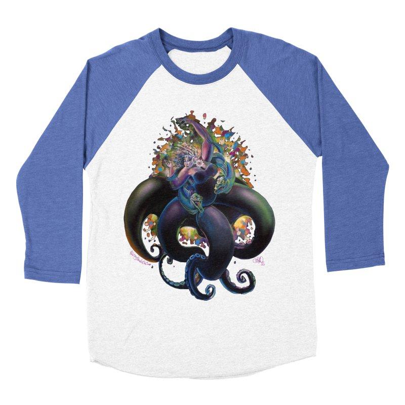 Sea witch Women's Baseball Triblend Longsleeve T-Shirt by All City Emporium's Artist Shop