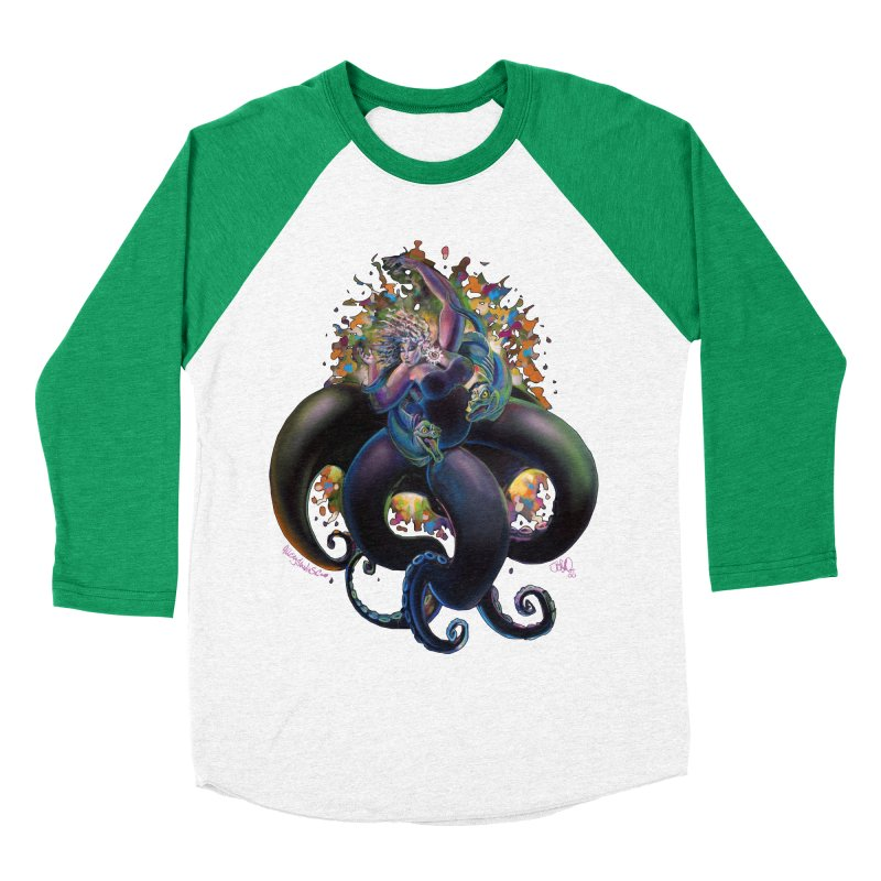 Sea witch Men's Baseball Triblend Longsleeve T-Shirt by All City Emporium's Artist Shop