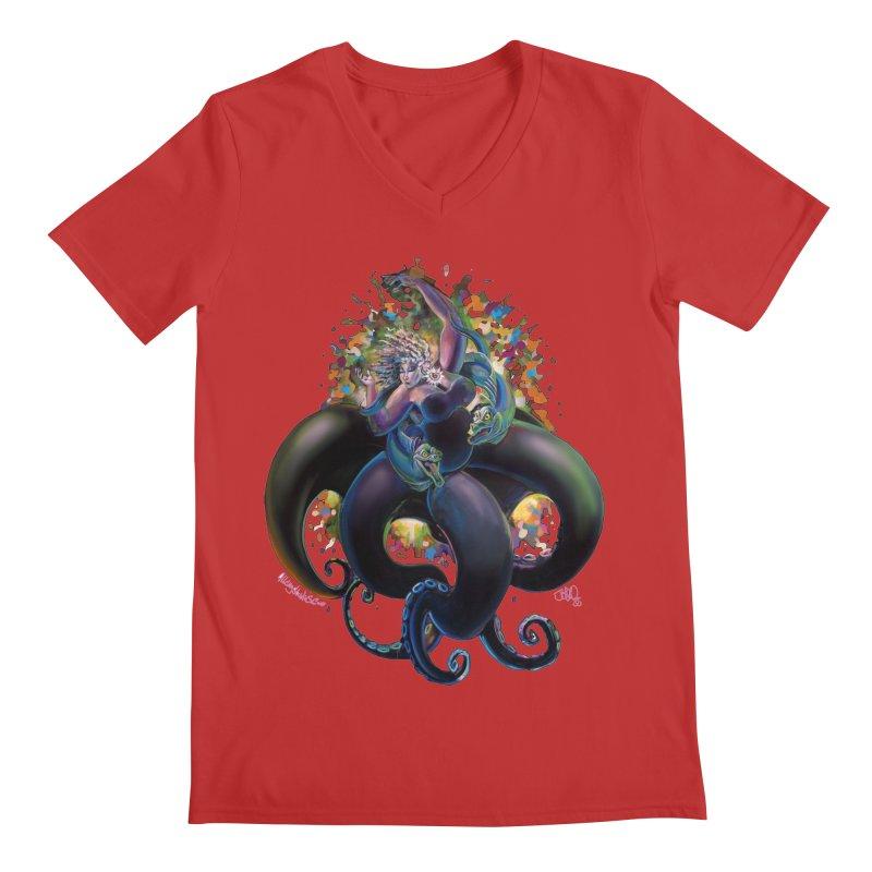Sea witch Men's Regular V-Neck by allcityemporium's Artist Shop