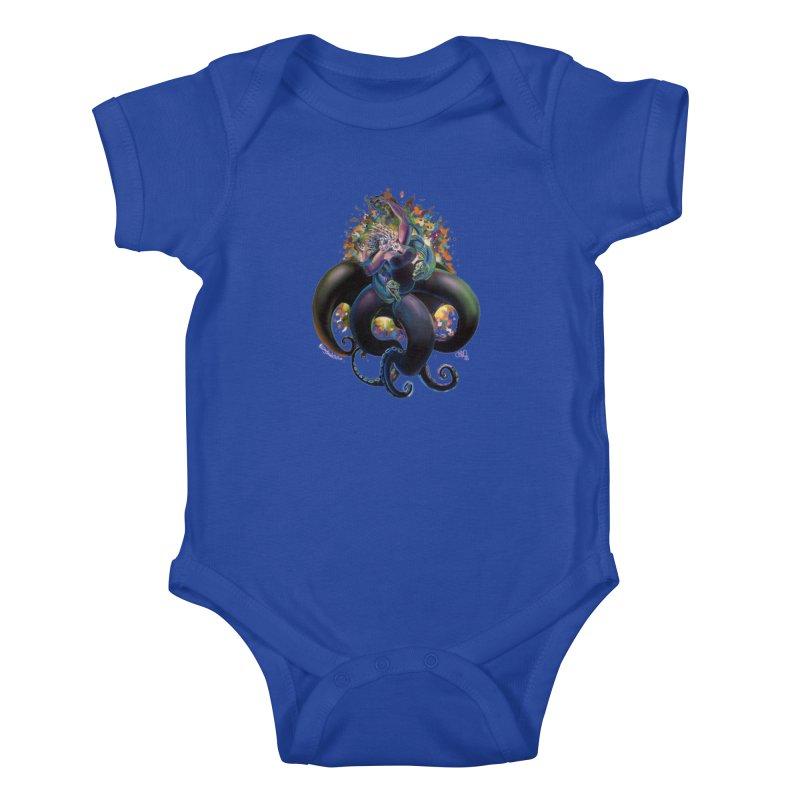 Sea witch Kids Baby Bodysuit by All City Emporium's Artist Shop