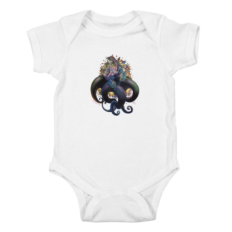 Sea witch Kids Baby Bodysuit by allcityemporium's Artist Shop