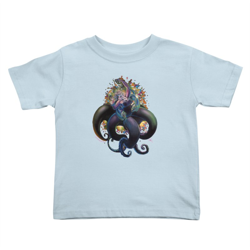 Sea witch Kids Toddler T-Shirt by All City Emporium's Artist Shop