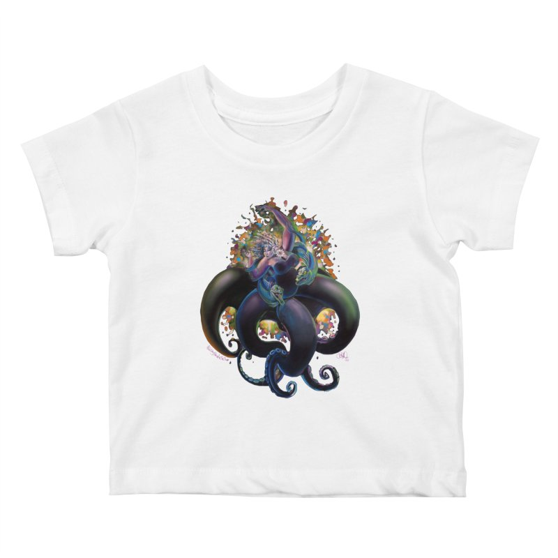 Sea witch Kids Baby T-Shirt by All City Emporium's Artist Shop