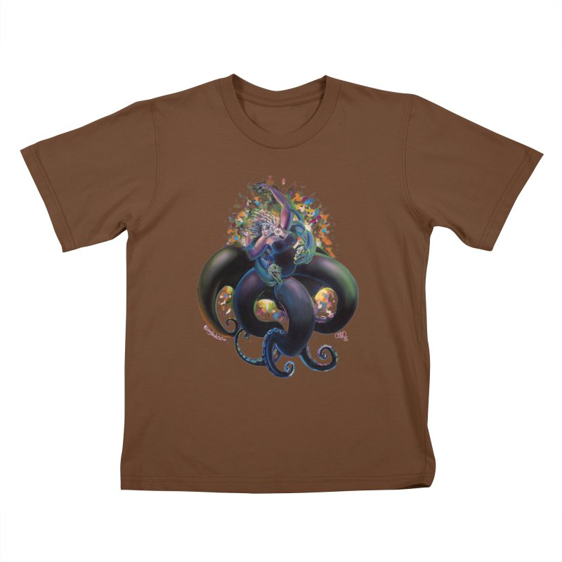 Sea witch Kids T-Shirt by All City Emporium's Artist Shop