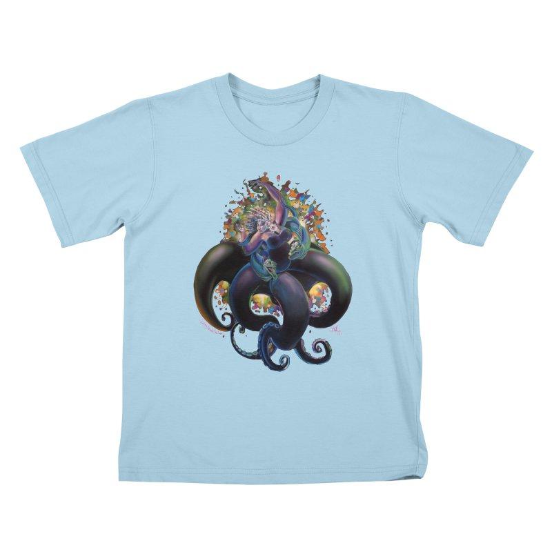 Sea witch Kids T-Shirt by All City Emporium's Artist Shop