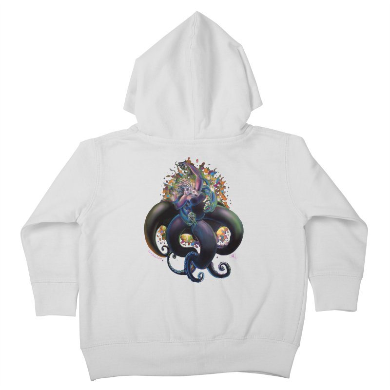 Sea witch Kids Toddler Zip-Up Hoody by All City Emporium's Artist Shop
