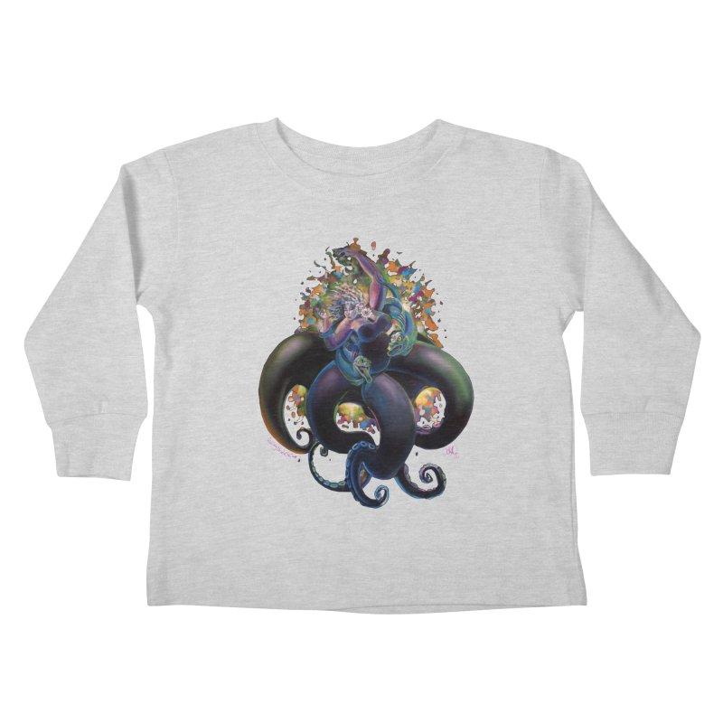 Sea witch Kids Toddler Longsleeve T-Shirt by allcityemporium's Artist Shop