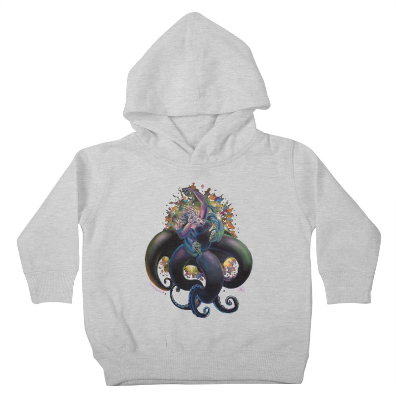 Sea witch Kids Toddler Pullover Hoody by All City Emporium's Artist Shop