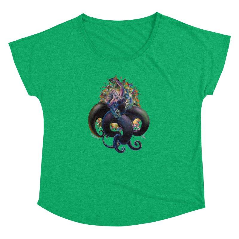 Sea witch Women's Dolman Scoop Neck by allcityemporium's Artist Shop