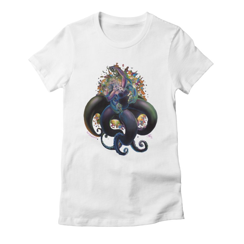 Sea witch Women's T-Shirt by All City Emporium's Artist Shop