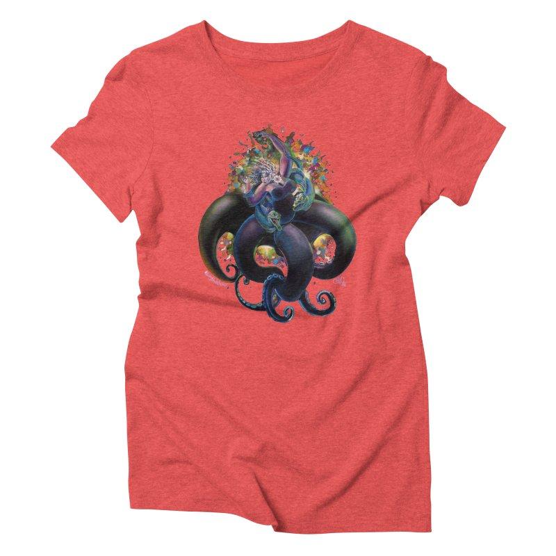 Sea witch Women's Triblend T-Shirt by All City Emporium's Artist Shop
