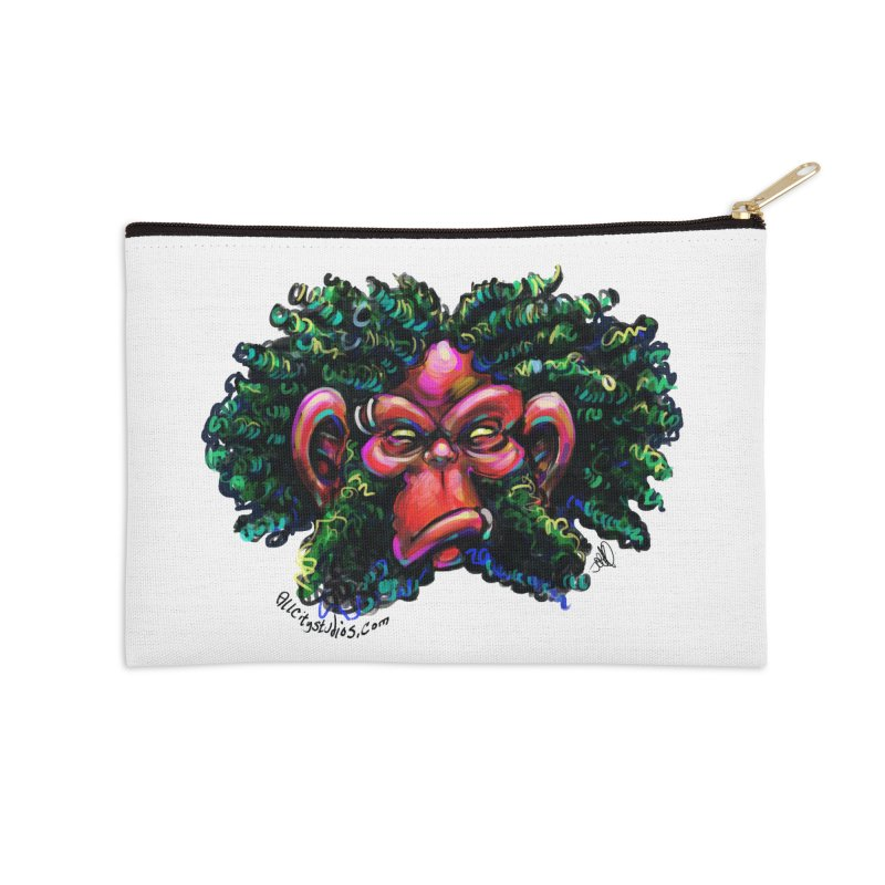 Trolligai Accessories Zip Pouch by All City Emporium's Artist Shop
