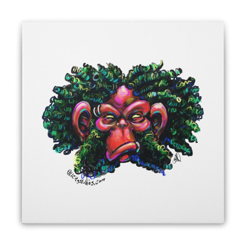 Trolligai Home Stretched Canvas by All City Emporium's Artist Shop