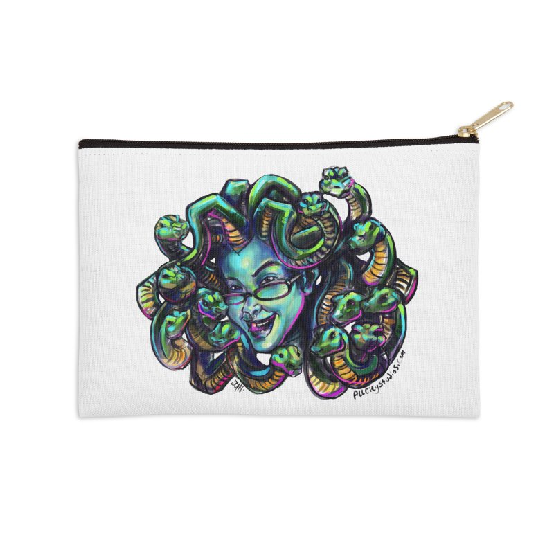 Medusa Accessories Zip Pouch by All City Emporium's Artist Shop