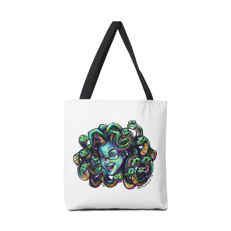 Medusa Accessories Tote Bag Bag by All City Emporium's Artist Shop