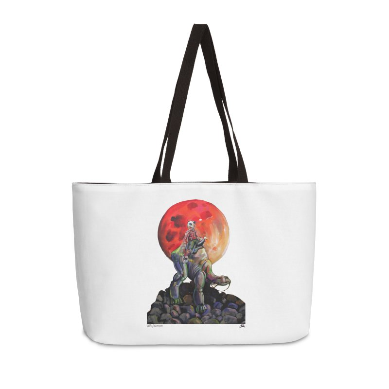 Pandaboi Accessories Weekender Bag Bag by All City Emporium's Artist Shop