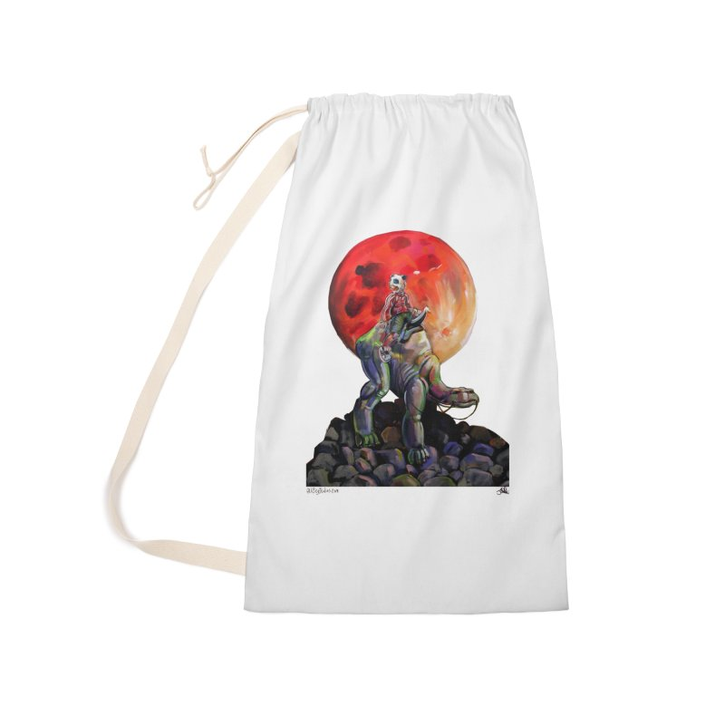 Pandaboi Accessories Laundry Bag Bag by All City Emporium's Artist Shop