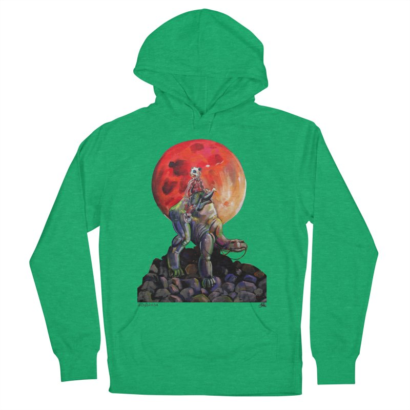 Pandaboi Women's French Terry Pullover Hoody by All City Emporium's Artist Shop