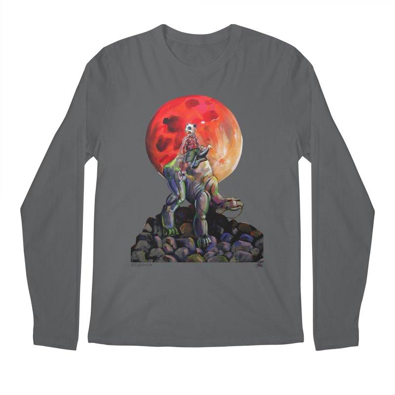 Pandaboi Men's Regular Longsleeve T-Shirt by All City Emporium's Artist Shop