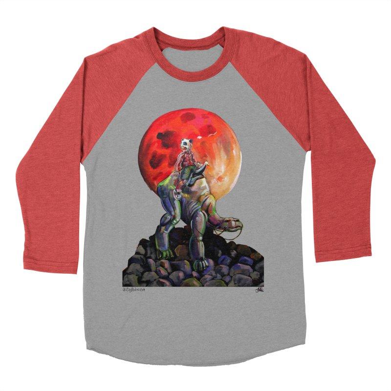 Pandaboi Women's Baseball Triblend Longsleeve T-Shirt by All City Emporium's Artist Shop