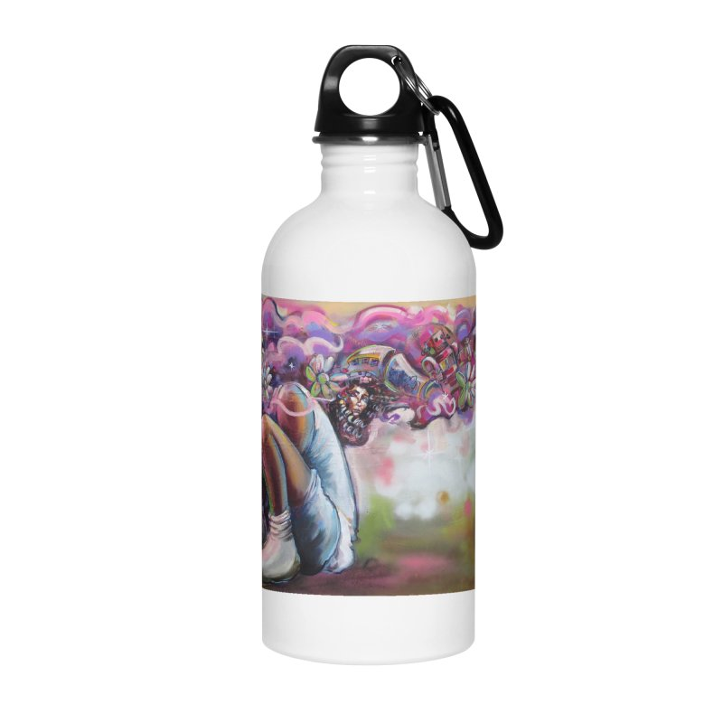 Thought Process Accessories Water Bottle by All City Emporium's Artist Shop