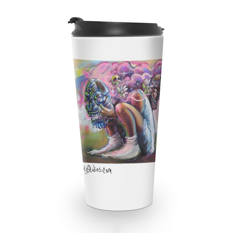 Thought Process Accessories Travel Mug by All City Emporium's Artist Shop